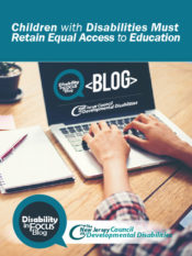 Children with Disabilities Must Retain Equal Access to Education