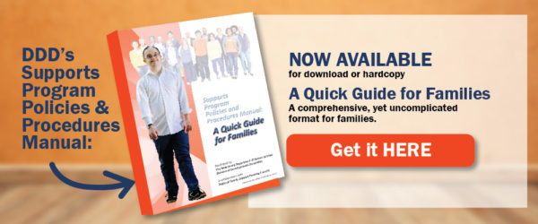 DDDs Supports Program Policies and Procedures Manual-A Quick Guide for Families now available-PAGE-BANNER-02