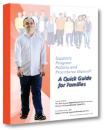 DDDs Supports Program Policies and Procedures Manual-A Quick Guide for Families BOOK COVER