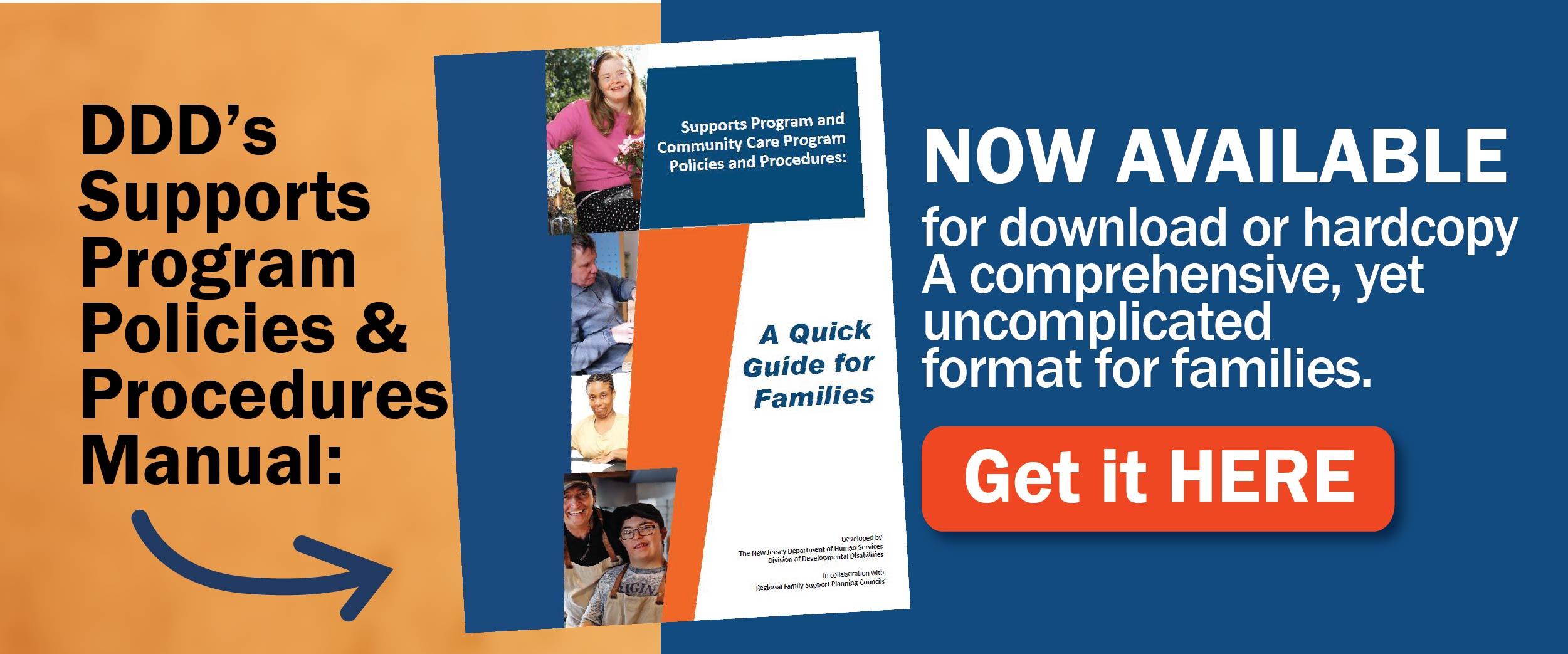 DDDs Supports Program Policies and Procedures Manual-banner