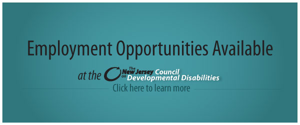 Employment-Opportunity-Available at the NJCDD Click here to find out more.