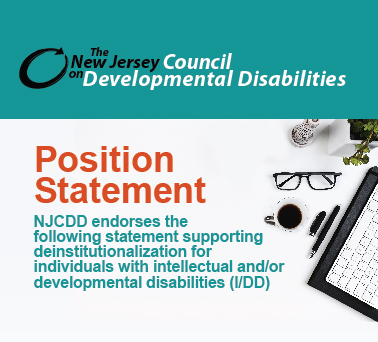 NJCDD Releases New Position Statement on Deinstitutionalization