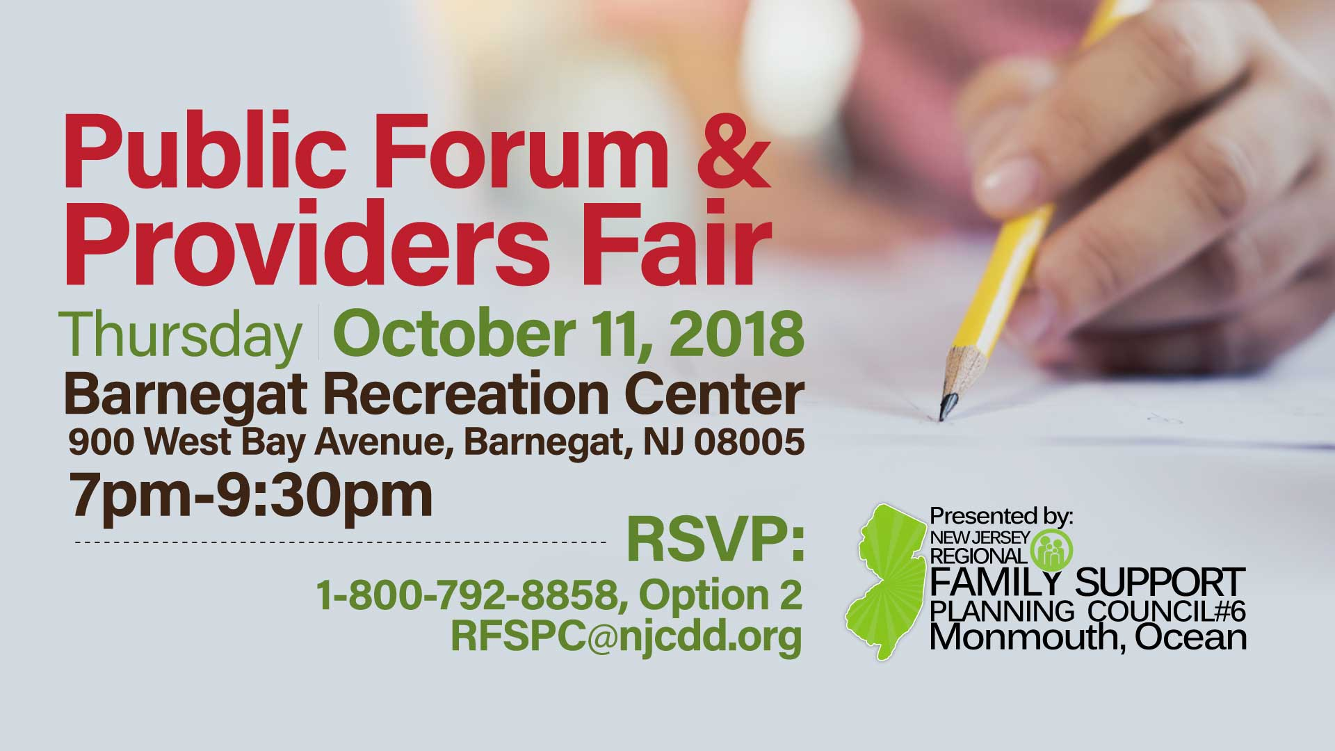 RFSPC6-Public-Forum and Providers Fair-Oct112018