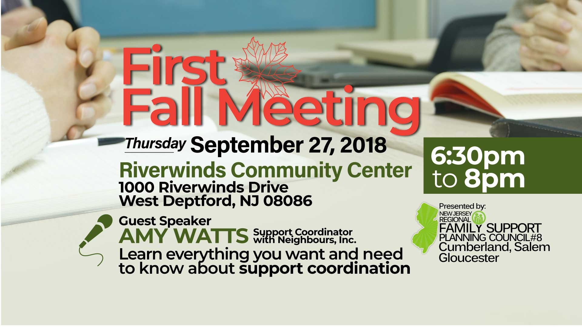 RFSPC8-FirstFallMeeting-Sept272018