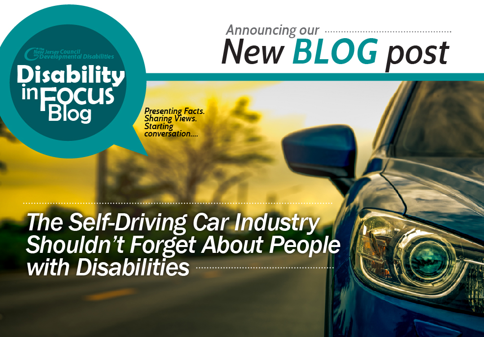 The Self-Driving Car Industry Shouldn't Forget About People with Disabilities